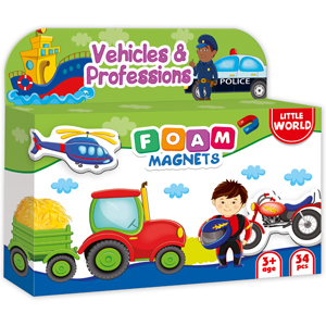 Amazoncom Refrigerator Magnets For Toddlers Kids Vehicles And