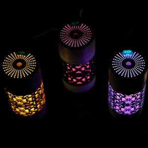 USB humidifier with 7 colors night light