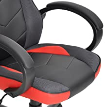 Coavas Computer Gaming Racing Chair red2