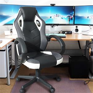 office executive computer desk chair, home desk chair or gaming racing chair