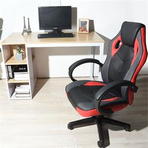 high back PU leather computer desk chair