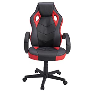 Amazoncom Computer Chair Gaming Chair Racing Chair Coavas Office - Office desk and chair
