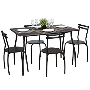 This Modern Dining Set Is Perfect For Smaller Dining Areas. 3. Competitive  Price 4. Attractive Design 5. Comfortable, Elegant And Endurable