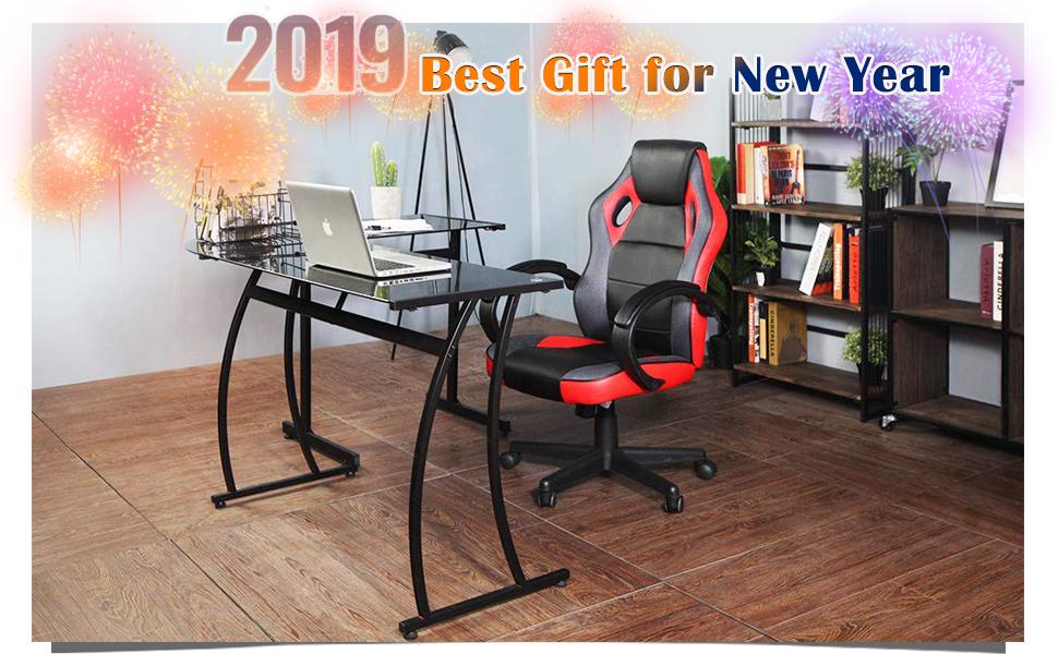 amazon com coavas computer chair racing chair game chair office