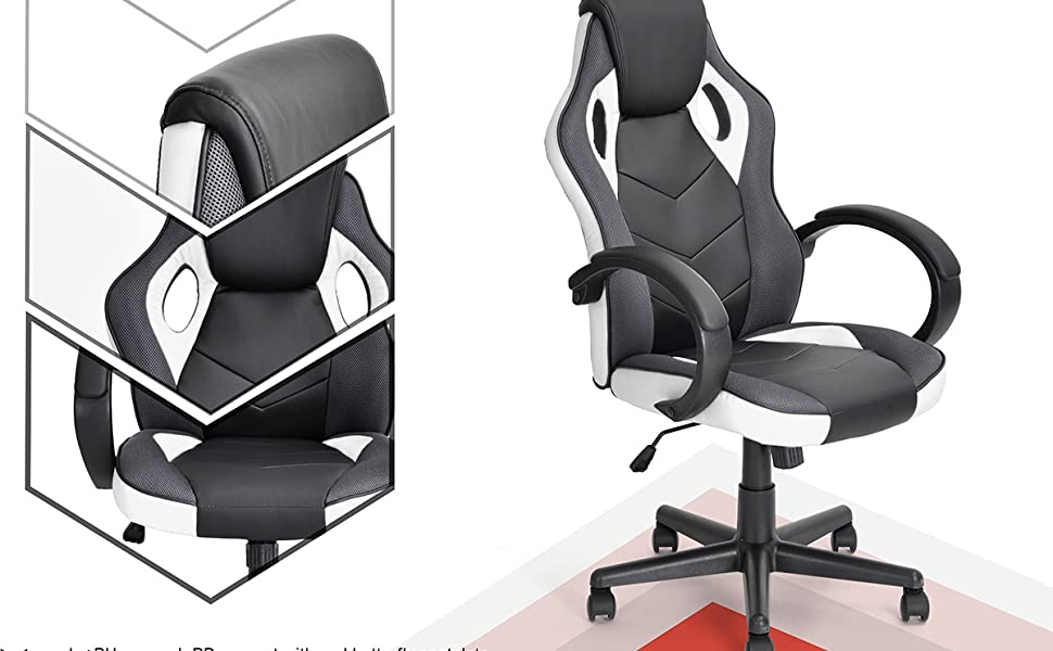 Coavas Executive office computer chair/ home desk gaming racing chair