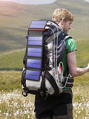solar panel charger portable power bank 20000mAh