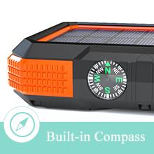 solar charger power bank 20000mah