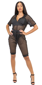 ummer Mesh Swimsuit Cover Up Romper Beach Bikini Cover Ups for Swimwear