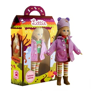 Autumn leaves box with doll