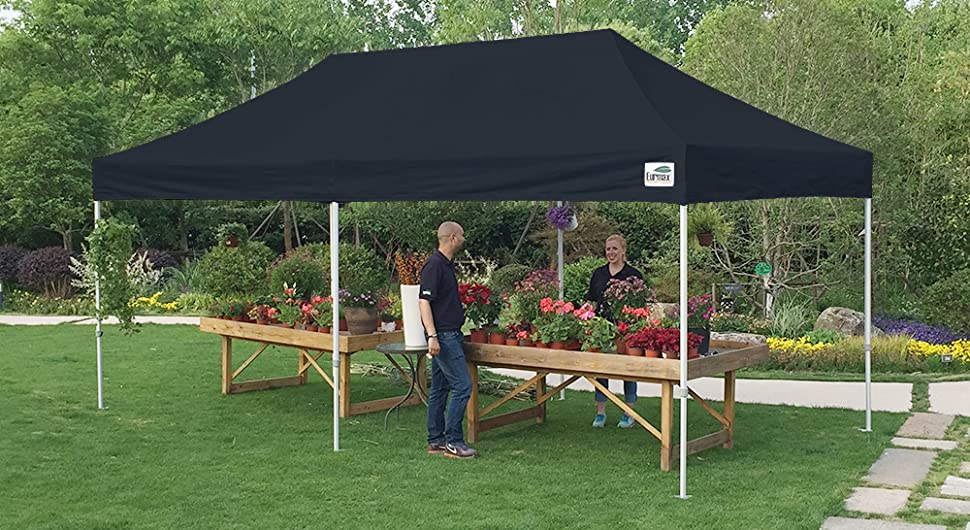 Amazon.com : Eurmax 10 X 20 EZ Pop Up Canopy Wedding Party