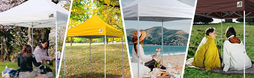 Ez Pop up Canopy Outdoor Heavy Duty Instant Tent Pop-up Canopy Shelter