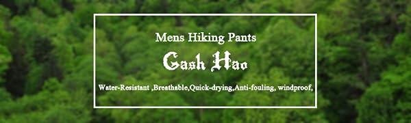 gash hao hiking pants