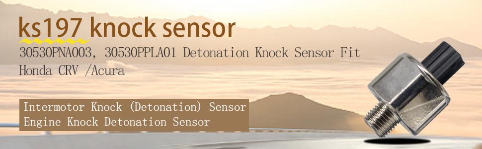 Detonation Ignition Knock Sensor Global 1811857 fits 99-01 Honda CR-V 2.0L-L4