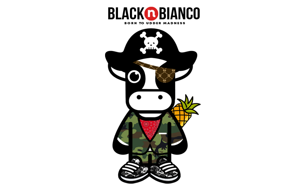 Black n Bianco Baby Milan Boys Blazer Logo