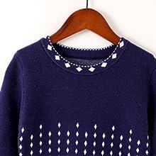 SMILING PINKER Girls Knit Sweater Long Sleeve Winter Party Dress 1