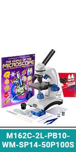 Amazon.com: AmScope 40X-1000X Biological Compound