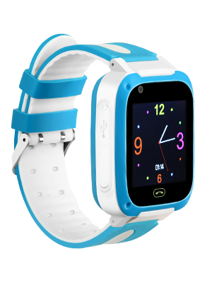 Kids Smartwatch Children Watches with SIM Card Included,Two-Way Call SOS,Games Camera Voice Chat Flashlight LBS Positioning (Blue)