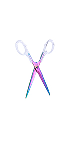 Acrylic colorful Scissors