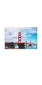 Acrylic Magnetic Photo Frame (4x6)