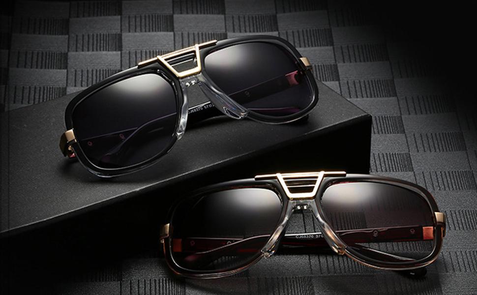 Men Womens Pilot Sunglasses 80s Retro Designer Shade Eyewear Classic Glasses T24