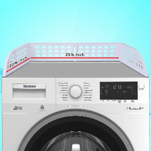 front loading washer and dryer organizer