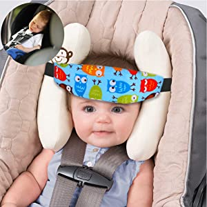 Accmor 4 Pcs Infants And Baby Head Support Safety Car Seat Neck Relief Offers Protection For Kids Christmas Gifts 2018