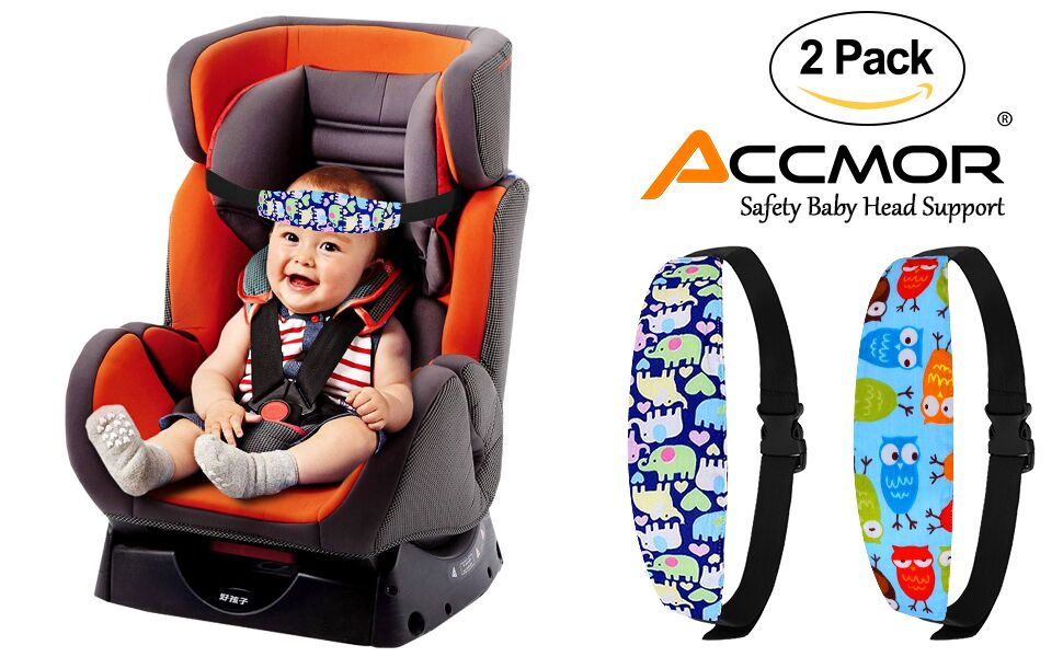 Infants and Baby Head Support,Carseat Neck Relief Set,Offers Protection U-shape