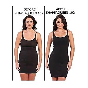 ShaperQueen 102 Thong (Open) - Womens Waist Cincher Shaper