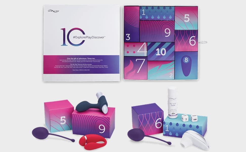 Amazon.com: We-Vibe Discover Gift Box - Adult Toy Collection Set ...