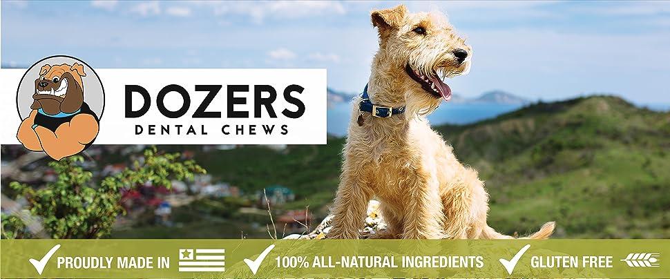 Amazon.com : Dozers Dental Dog Chews - 100% All Natural