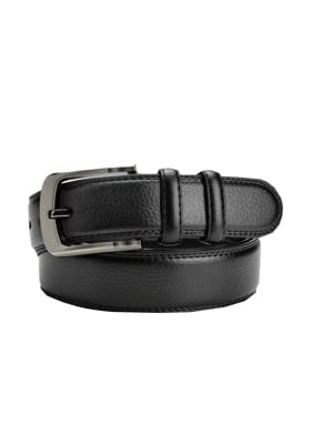 """Men's Leather Belt 39""""-70"""" Waist Regular and Big & Tall"""