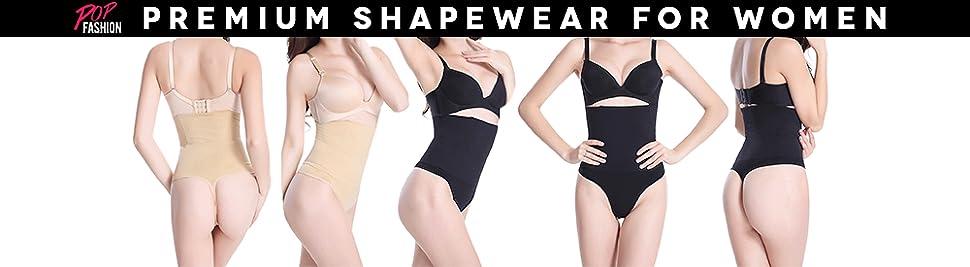 defcdc71a7 Pop Fashion Womens Shapewear Thong Panties Bodysuit High Waist Tummy ...