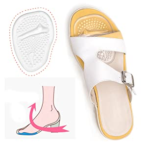 c1915129551d Half Toe Sleeve Ball-of-Foot Pads made of Soft and Durable Medical-Grade  TPE Gel Material