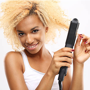 curl or straighten hair