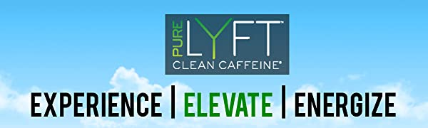 pureLYFT caffeine powder stir stick for natural energy supplement