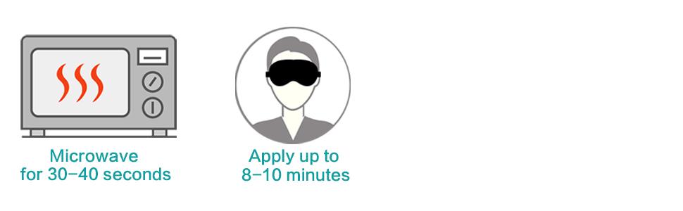 Amazon.com: ProCIV - Máscara de ojo de calor para ojo de ...