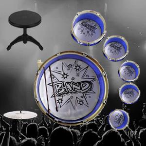 drums set jazz toyvelt