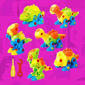 stem dinosaurs take apart toyvelt creativity
