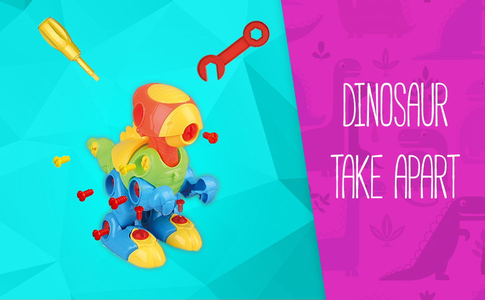 take apart dinosarus stem