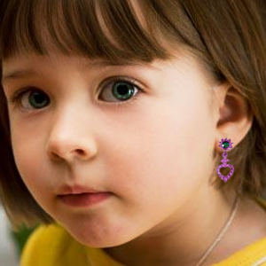 earring princess prented play boutique safe cute