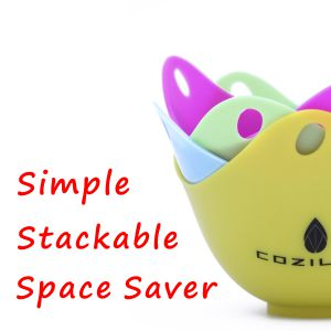 simple stackable space saver
