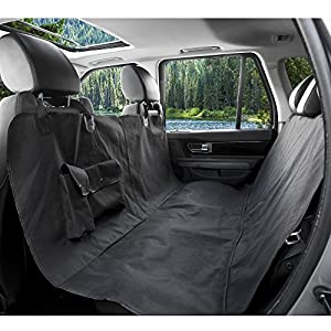 BarksBar Orignal Pet Seat Cover Extra Large The Easiest Way To Protect Backseat Of Your Car SUV Or Truck From Dirt Spills Scratches And Fur