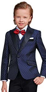 Amazon.com: Elpa ELPA niño trajes 5 juegos boda Host ...