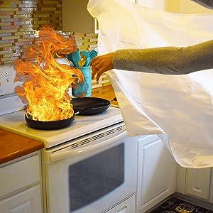 Fire Extinguisher blanket