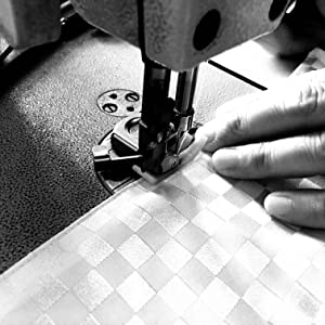 Sewing a digital piano dust cover