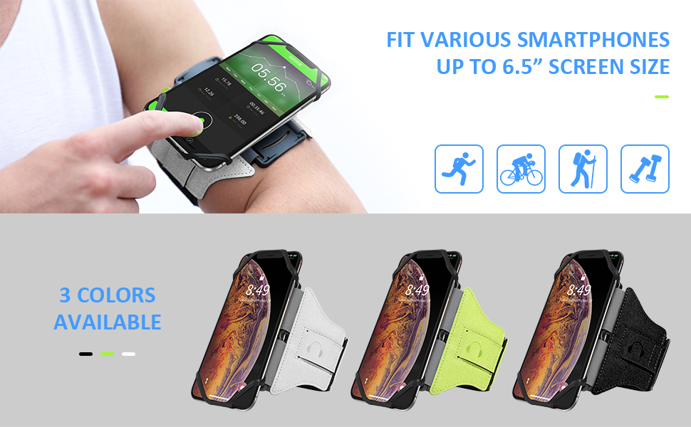 360 detachable running armband,s8 plus running armband,iphone 7 plus running armband,s9 plus armband