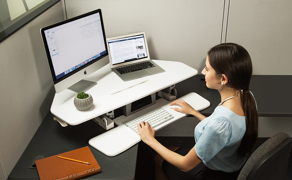 Amazon Com Flexispot Standing Desk 41 Quot Cubicles Corner