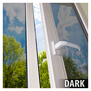 BDF S15 Window Film One Way Mirror Silver 15 (Dark) - 48in X 24ft ...