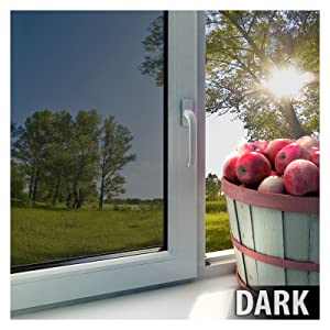 BDF EXS15 EXTERIOR Window Film Privacy and Sun Control Silver 15 ...