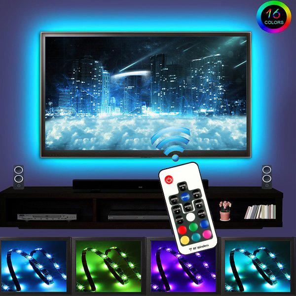 Led Home Theater Tv Back Light Bias Accent Lighting Kit: Amazon.com: EveShine Neon Accent LED Strips Bias Backlight